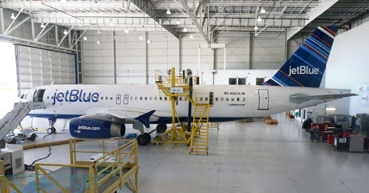 jetblue and viasat prepare to launch 12 mbps wifi at 36 000 feet a livetv tour. Black Bedroom Furniture Sets. Home Design Ideas