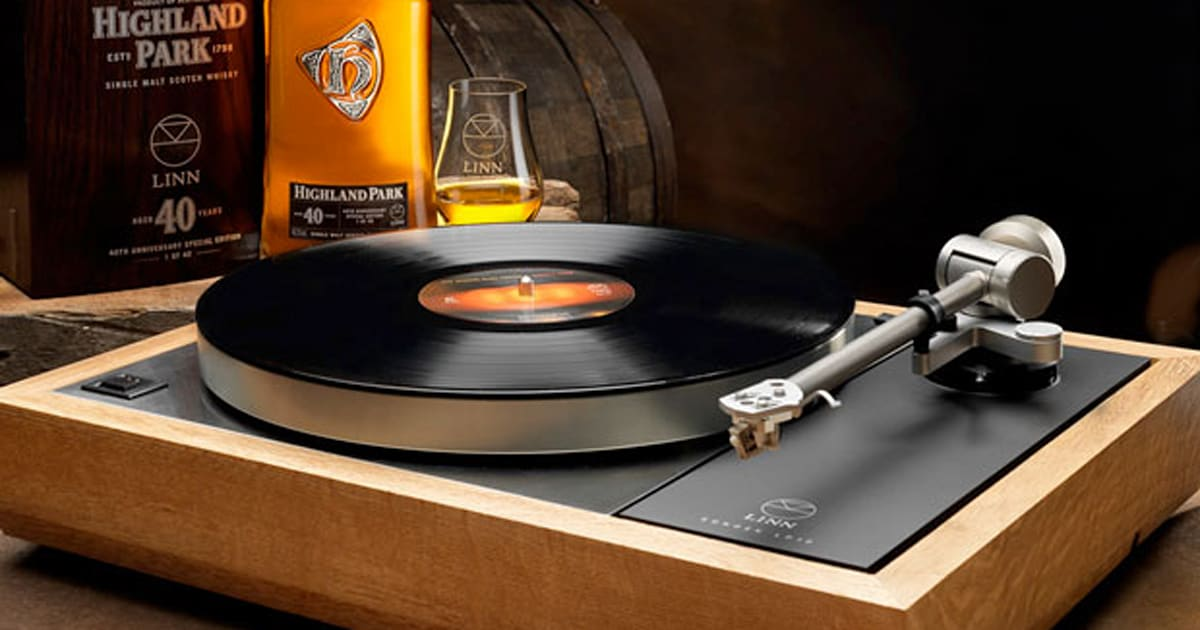 Linn Launches 25 000 Turntable Made Out Of Whisky Casks