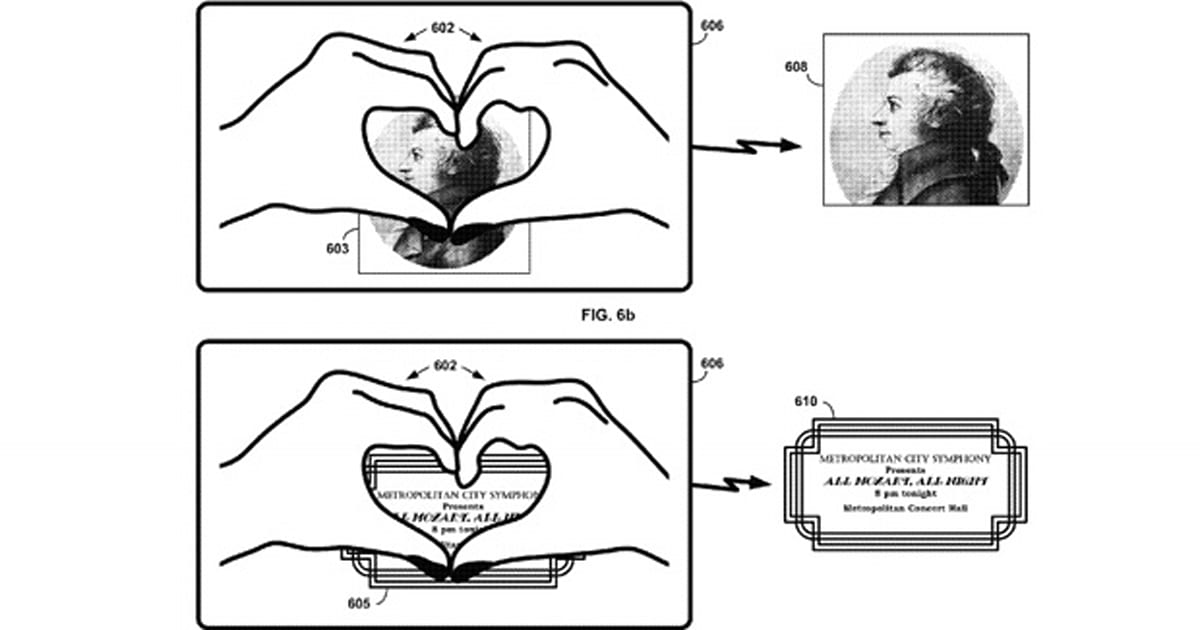 Google gesture patent would let Glass wearers 'heart' real