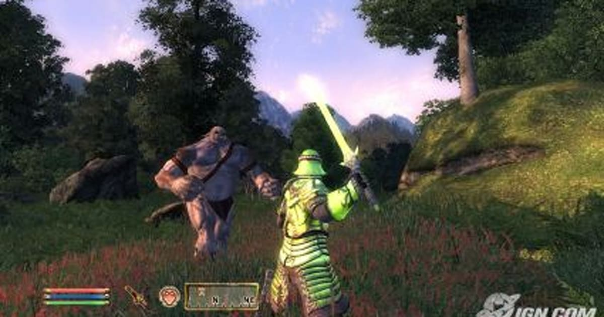 IGN: PS3 Oblivion loads quicker, looks nicer than 360