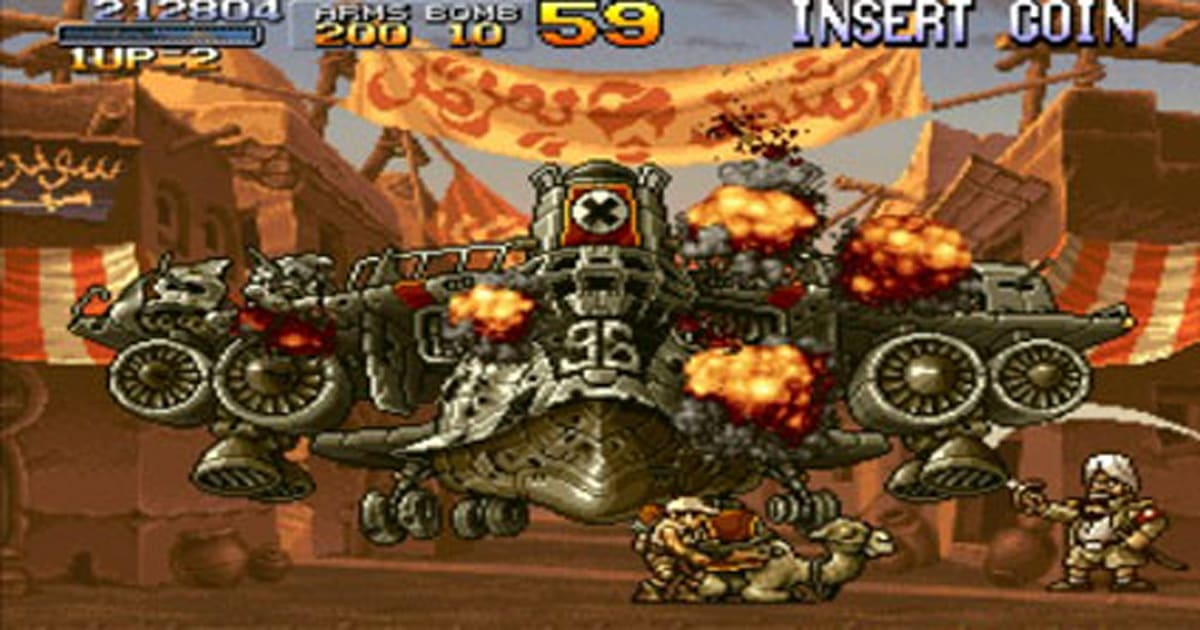 PSP Fanboy review: Metal Slug Anthology