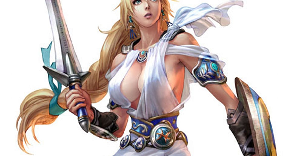 Soul Calibur IV keeps laying on the sexuality
