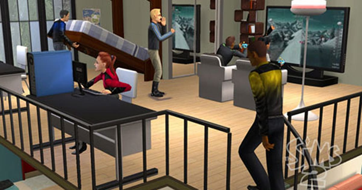 the sims 2 apartment games coming to pc ds in august. Black Bedroom Furniture Sets. Home Design Ideas