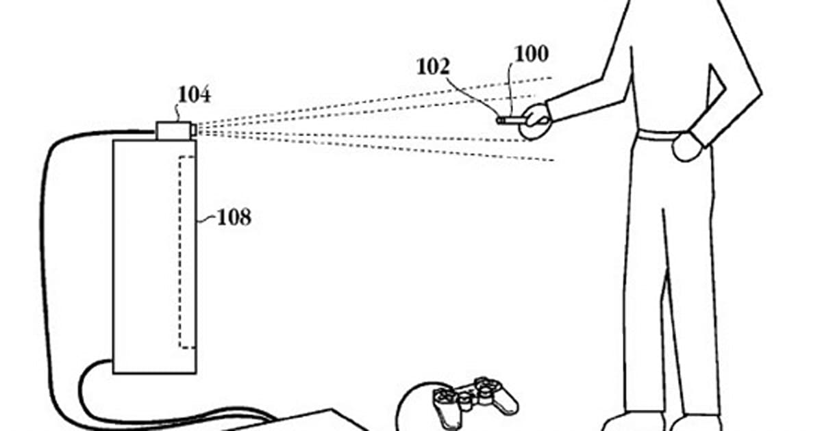 Sony patent brings Wii-like interface to PS2