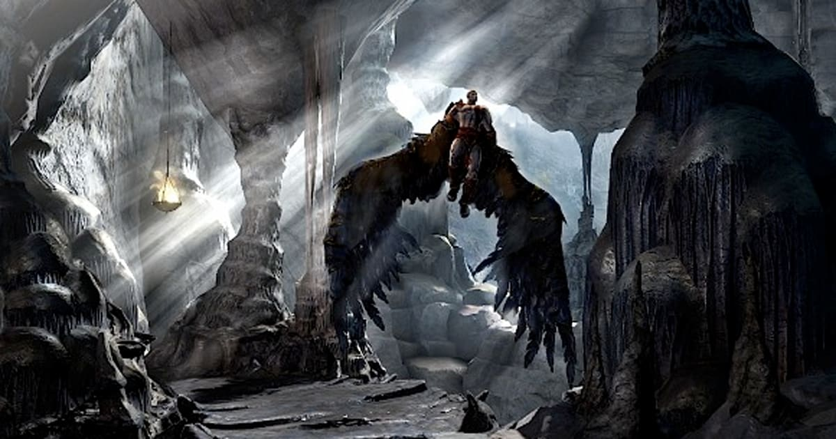 It S Not Concept Art New God Of War Iii Pics Are That