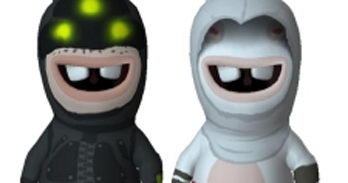 choose your rabbids go home bonus assassins creed rabbid or geek squad rabbid - Raving Rabbids Halloween Costume