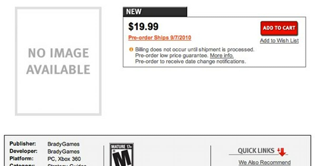 Borderlands Goty Edition Teased By Gamestop Strategy Guide