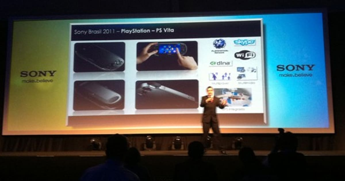 Sony Ps Vita Logo : Report skype logo on slide in brazilian playstation vita