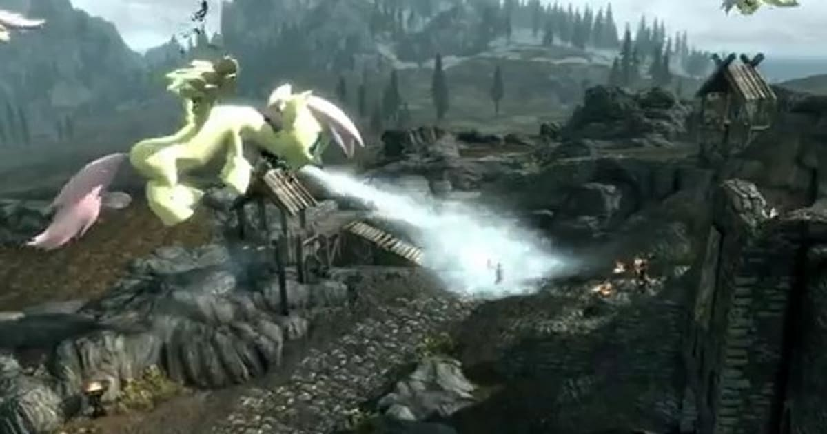 Skyrim mod replaces dragons with My Little Pony on rpg mod, skyrim quest mods, skyrim road map, skyrim level map, skyrim map app, skyrim riften location map, skyrim map detailed, skyrim mods of the week, dota 2 map mod, skyrim map drawing, skyrim quest icon, skyrim bloodskal barrow location on map, skyrim google, skyrim map full, skyrim female names, skyrim treasure map 3 location, skyrim interactive map, skyrim elder scrolls online map, skyrim player house mods,