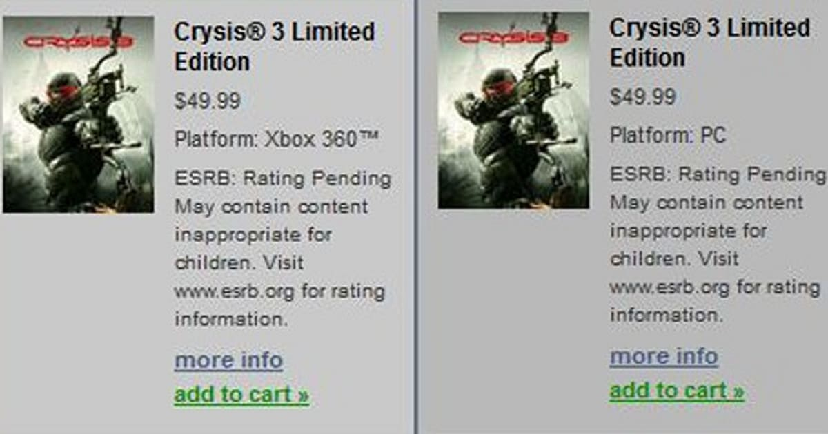 Crysis 3 reveal set for April 16