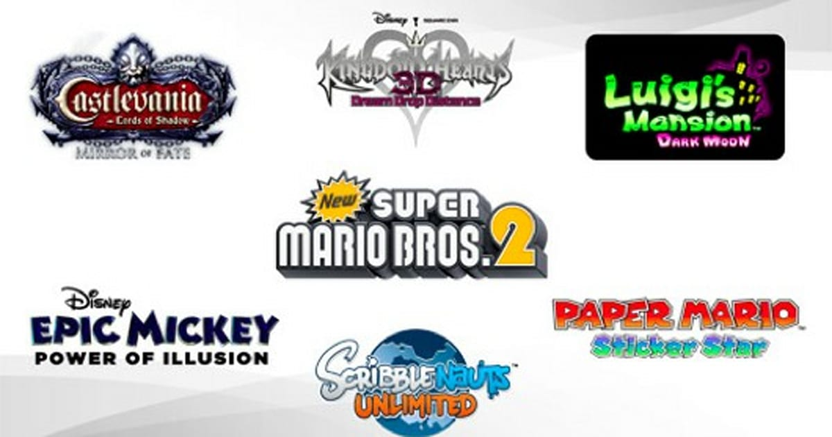 3DS digital releases to include Epic Mickey, Scribblenauts Unlimited