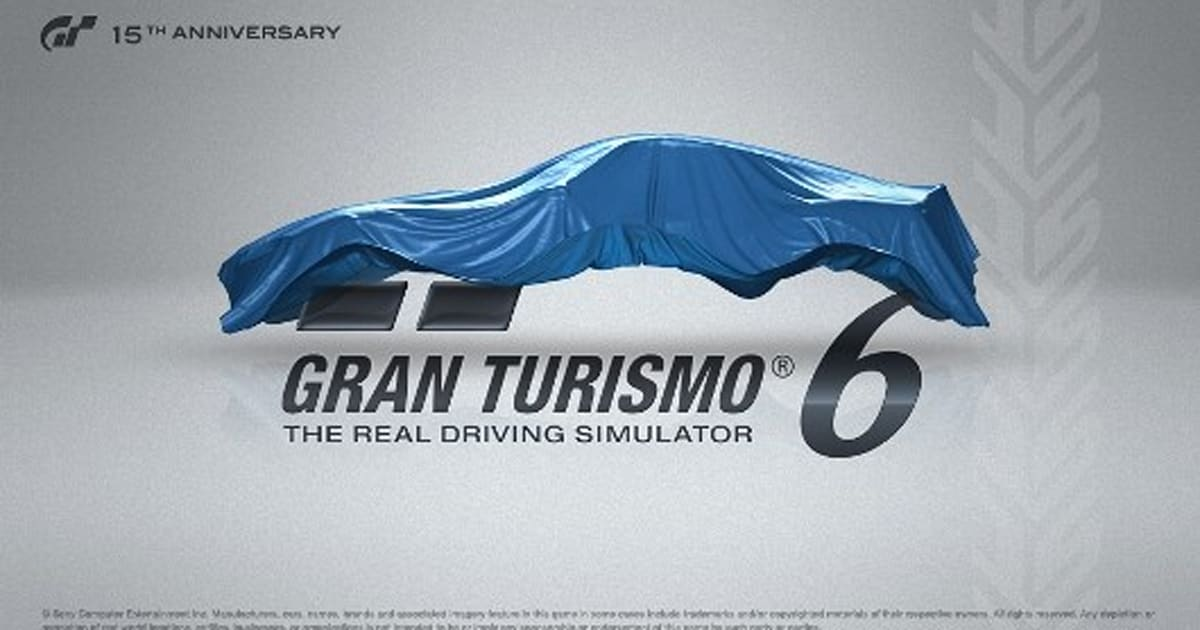 sony explains why gran turismo 6 is launching on ps3 not ps4. Black Bedroom Furniture Sets. Home Design Ideas