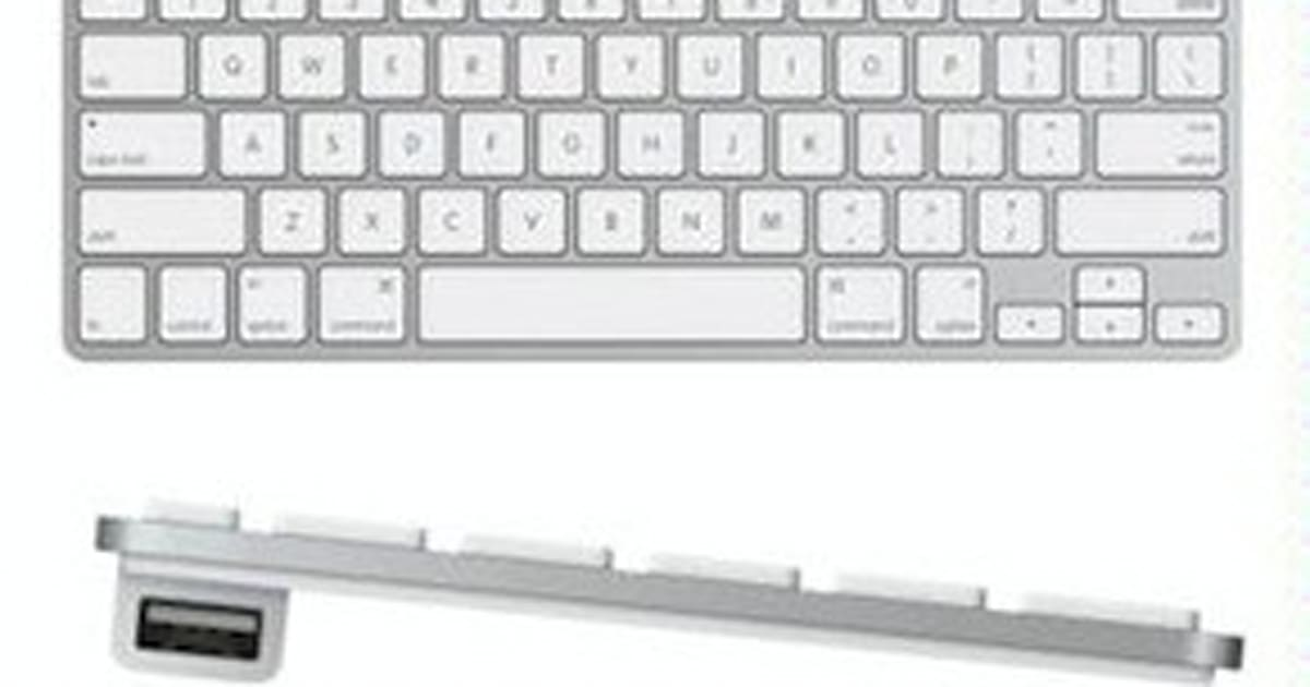 Apple compact wired keyboard gets discontinued