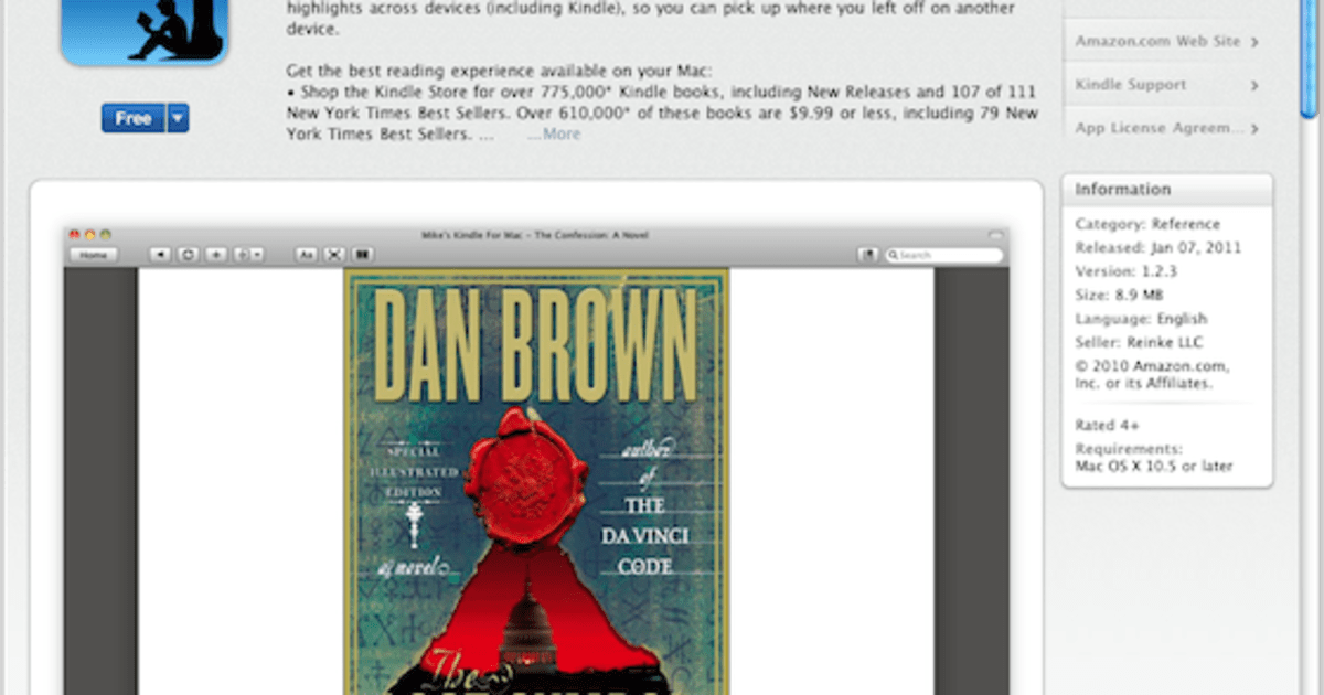 Kindle For Mac Lands On The Mac App Store Engadget