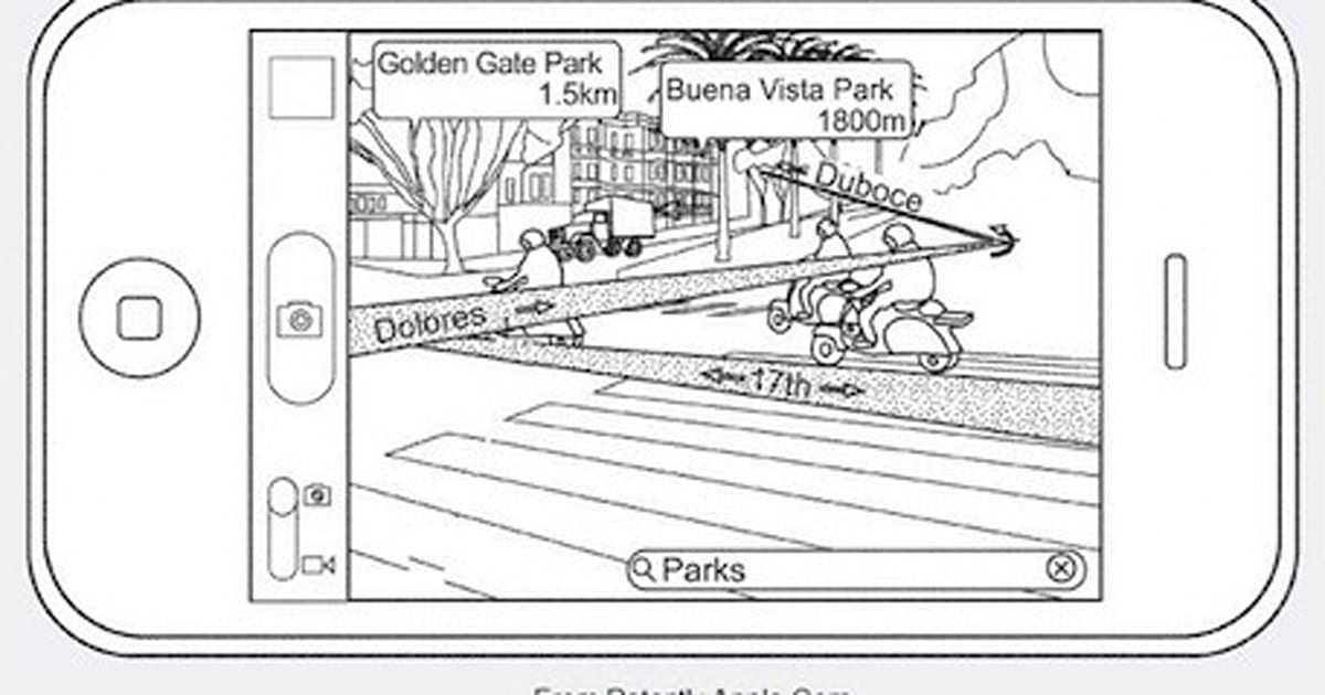 Patent suggests augmented reality coming to Maps and