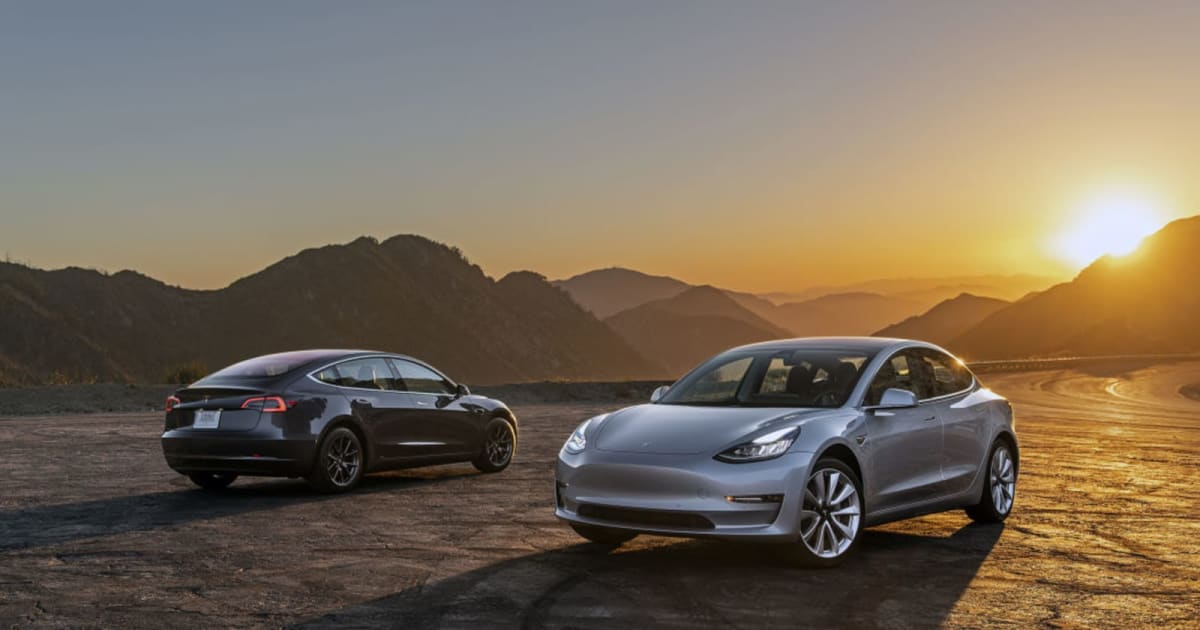 Tesla sneaks past Canada EV incentive law with cheap 93 ...