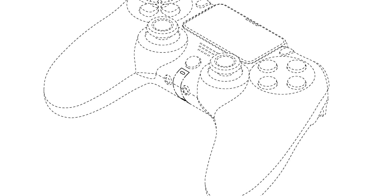 Sony patent may show a familiar-looking controller for the