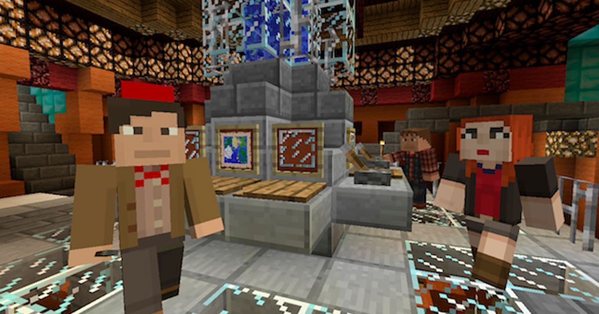 'Doctor Who' skins for 'Minecraft' hit Xbox 360 this Friday