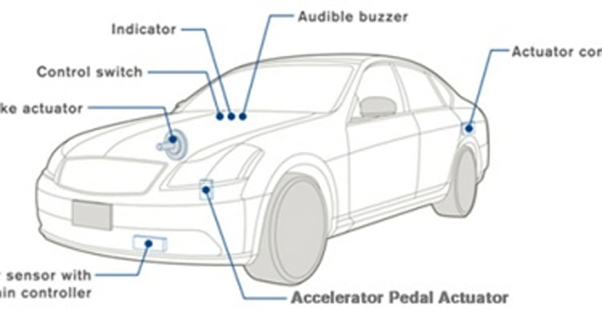 Nissan's GPS-enabled cruise control foreshadows robot cars