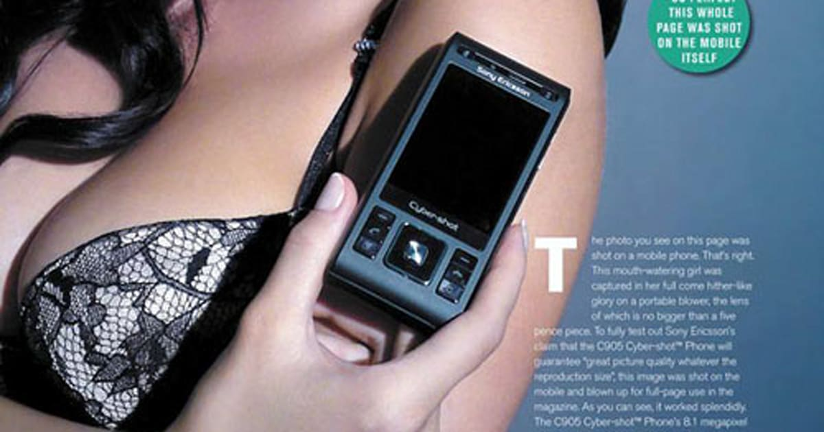 Sony Ericsson's new ad shows off the C905's camera and absolutely ...