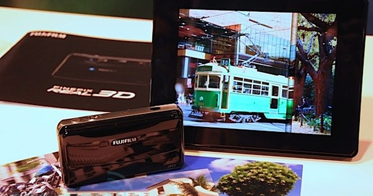 FujiFilm Real 3D Camera Given A Video Hands-on By Fake 3D