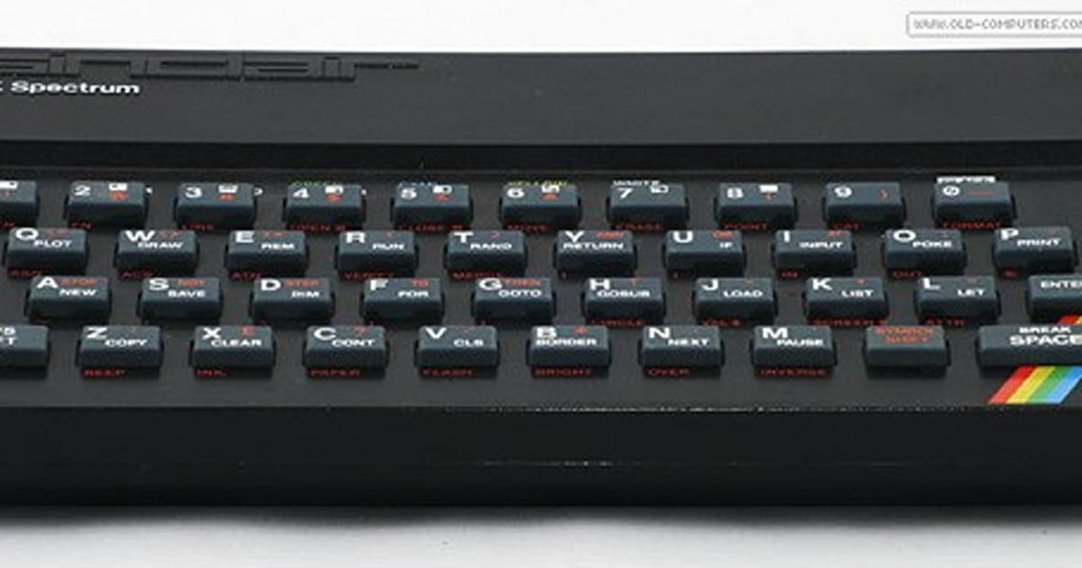 Sinclair ZX Spectrum Turns 30, Gets Immortalized As A