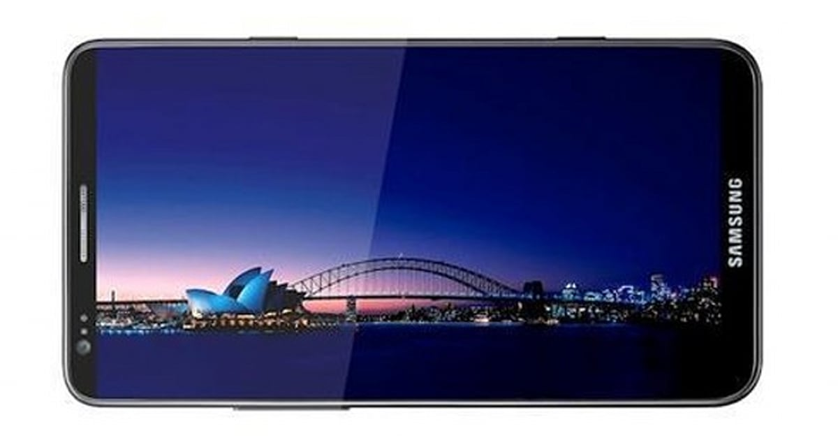 Is this the Samsung Galaxy Note 2? Image posted on ...