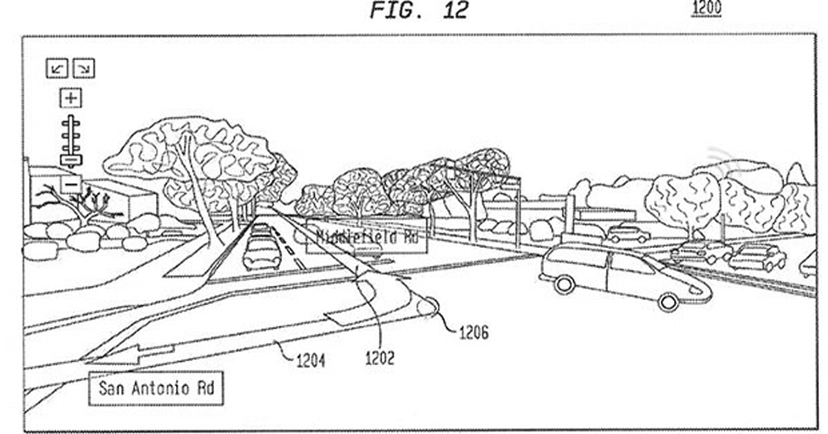 Google patent details augmented reality overlay for sat