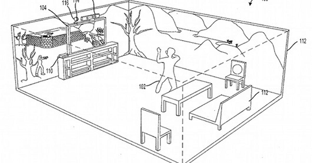 Microsoft seeks patent for 'immersive display experience'