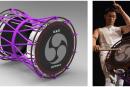 伝統の和太鼓が電子楽器に。ローランドと鼓童、電子担ぎ太鼓を開発し8月19日披露