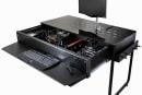 Lian-Li からデスク型PCケース3モデル。アルミ筐体&ガラス天板、水冷対応で13万円から。2台収納版も