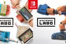 Nintendo Labo、ダンボールシートのみの販売開始。1枚162円、セット購入も可能
