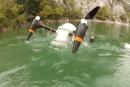 水中から発進、飛翔するドローンCRACUNS発表。2か月間の潜水後でも飛行可能、ボディは軽量樹脂を3Dプリントで整形
