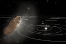 太陽系外から来た葉巻型物体「オウムアムア」小惑星でなく彗星と判明。ガス噴出なければ加速の説明つかず