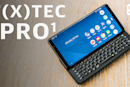 The F(x)tec Pro 1 is a love letter to your old QWERTY keyboard phones