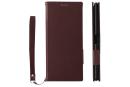 「Xperia 1」の手帳型ケースがトリニティから。人工皮革「クラリーノ」採用