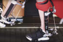 Engineers test a powered 'ankle exoskeleton' to make running easier