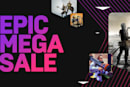 Epic Games offers up to 75 percent off select games in its 'Mega Sale'