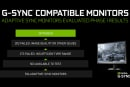 NVIDIA certifies another 16 gaming monitors as 'G-Sync Compatible'