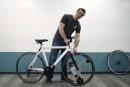 自転車を後付けで電動化できる、モーター内蔵ホイール「GeoOrbital」