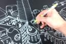 紙感覚で描ける電子ペーパー「JustWrite」発表。ほぼ遅延なし、ペンやブラシなど筆記具スタイルも使用可能