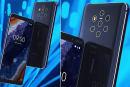 疑似 Nokia 9 PureView 官方渲染圖及影片流出,五鏡頭主相機要來了