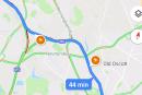 Googleマップでスピード違反取り締まり情報シェア機能テスト中。運転中に近づくと音声によるアラート