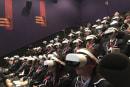 なぜVRを映画館でかぶるの? N高がバルト9で入学式を開催