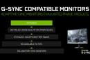 又有 16 款游戏显示器达到了 NVIDIA 的 G-Sync Compatible 标准