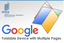 Google、本のように複数ページを持つ折りたたみスマホの特許を申請