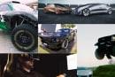 遠隔操縦でドリフト・ランボと巨大トラックの仁義なき駐車場争い・旧マスタングをEVマッスルカー化: #egjp 週末版172