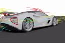電気ハイパーカー『エヴァイヤ』のデザインを空力チーフが解説。並のスポーツカーとは「戦闘機と凧ほど違う」