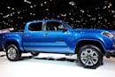 The 2016 Toyota Tacoma has a GoPro mount as a standard feature