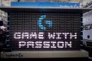 羅技用 160 隻 G810 鍵盤打造了一個「鍵盤牆」